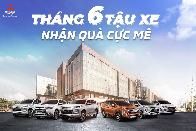 Giảm giá xe, tặng bộ lọc không khí khi mua xe trong tháng 6 tại Mitsubishi Phú Thọ